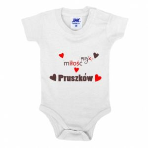 Baby bodysuit Inscription - My love is Pruszkow
