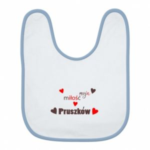Bib Inscription - My love is Pruszkow