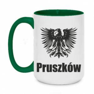 Two-toned mug 450ml Pruszkow