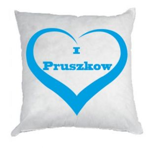 Pillow I love Pruszkow
