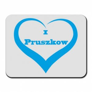 Mouse pad I love Pruszkow