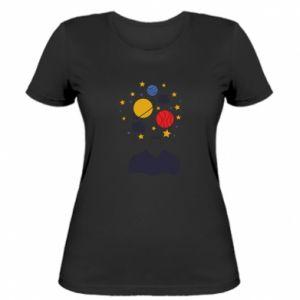 Damska koszulka Przestrzeń w głowie
