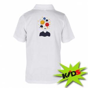 Koszulka polo dziecięca Przestrzeń w głowie
