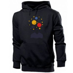 Men's hoodie Space in the head