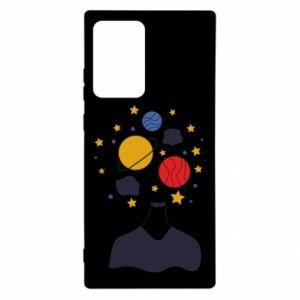 Etui na Samsung Note 20 Ultra Przestrzeń w głowie