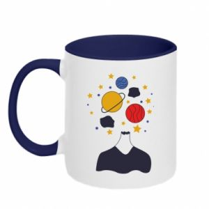 Two-toned mug Space in the head