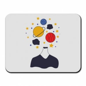 Mouse pad Space in the head