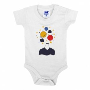 Baby bodysuit Space in the head
