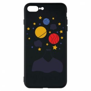 Phone case for iPhone 7 Plus Space in the head