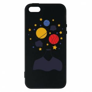 iPhone 5/5S/SE Case Space in the head