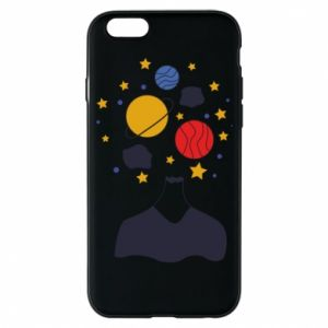 Phone case for iPhone 6/6S Space in the head