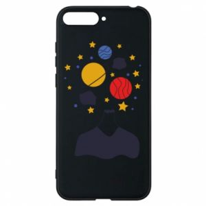 Phone case for Huawei Y6 2018 Space in the head