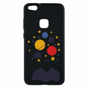 Phone case for Huawei P10 Lite Space in the head