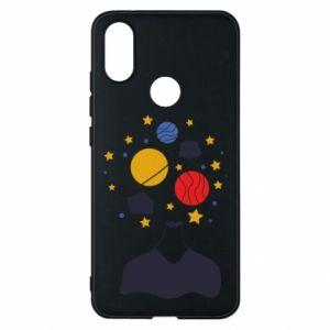 Phone case for Xiaomi Mi A2 Space in the head