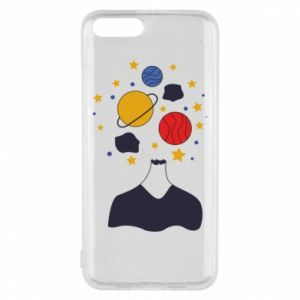Phone case for Xiaomi Mi6 Space in the head