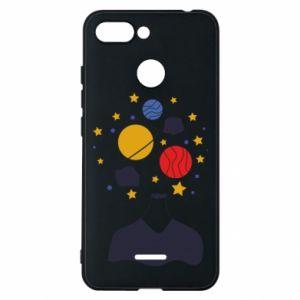 Phone case for Xiaomi Redmi 6 Space in the head