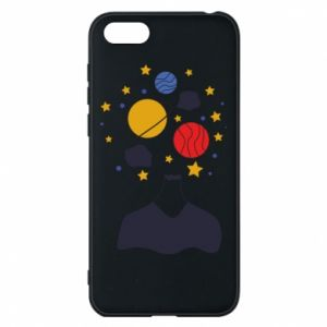 Phone case for Huawei Y5 2018 Space in the head