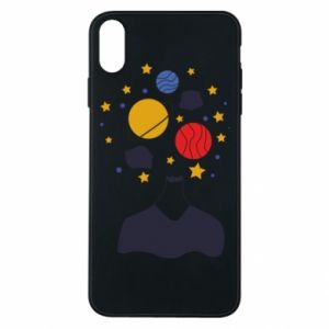 iPhone Xs Max Case Space in the head