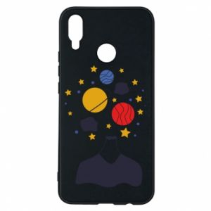 Phone case for Huawei P Smart Plus Space in the head