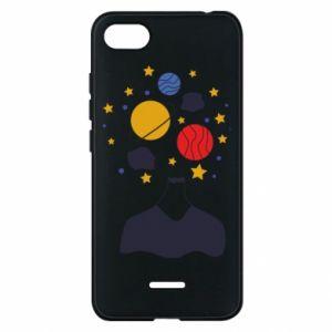 Phone case for Xiaomi Redmi 6A Space in the head