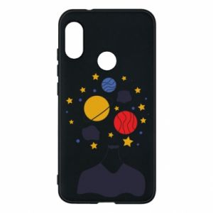 Phone case for Mi A2 Lite Space in the head