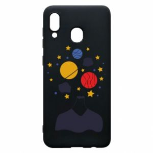 Samsung A20 Case Space in the head