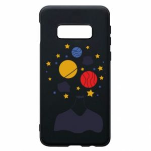 Phone case for Samsung S10e Space in the head