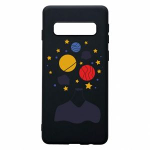 Phone case for Samsung S10 Space in the head