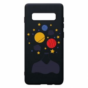 Phone case for Samsung S10+ Space in the head