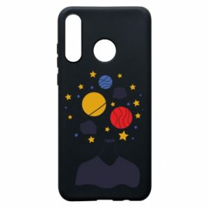 Phone case for Huawei P30 Lite Space in the head