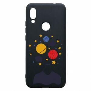 Phone case for Xiaomi Redmi 7 Space in the head