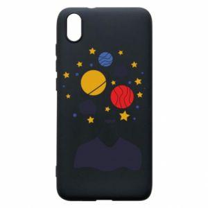 Phone case for Xiaomi Redmi 7A Space in the head