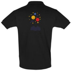 Men's Polo shirt Space in the head