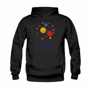 Kid's hoodie Space in the head