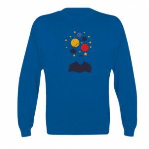 Kid's sweatshirt Space in the head