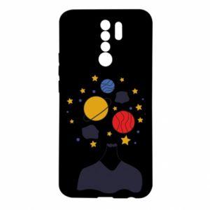 Etui na Xiaomi Redmi 9 Przestrzeń w głowie