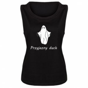 Damska koszulka bez rękawów Przyjazny duch