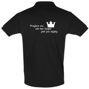 Koszulka Polo Przykro mi