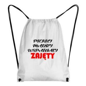 Plecak-worek Przystojny, mądry