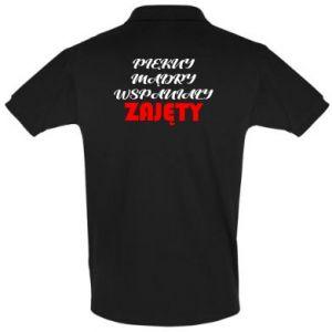 Koszulka Polo Przystojny, mądry