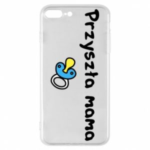Phone case for iPhone 8 Plus Future mommy for a boy