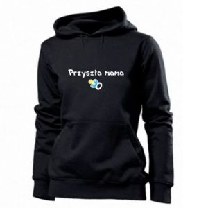 Women's hoodies Future mommy for a boy