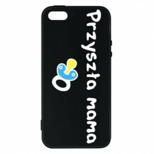 Phone case for iPhone 5/5S/SE Future mommy for a boy
