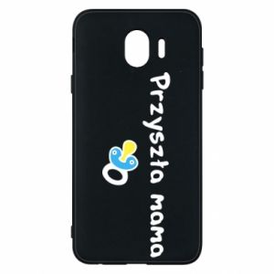 Phone case for Samsung J4 Future mommy for a boy