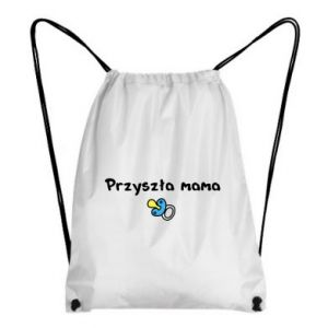 Backpack-bag Future mommy for a boy