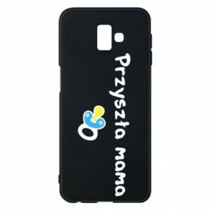 Phone case for Samsung J6 Plus 2018 Future mommy for a boy