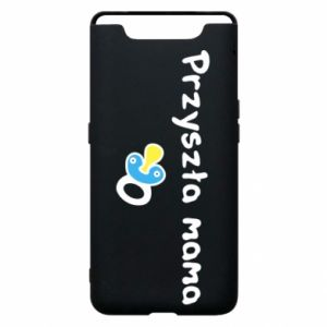 Phone case for Samsung A80 Future mommy for a boy