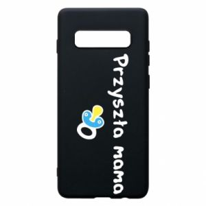 Phone case for Samsung S10+ Future mommy for a boy