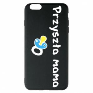 Phone case for iPhone 6 Plus/6S Plus Future mommy for a boy