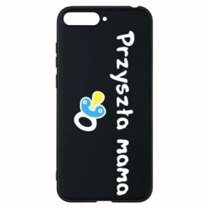 Phone case for Huawei Y6 2018 Future mommy for a boy